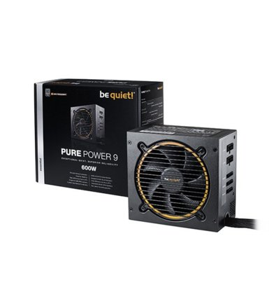 Be quiet! Pure Power 9 CM 600W 80+ Silver BN268