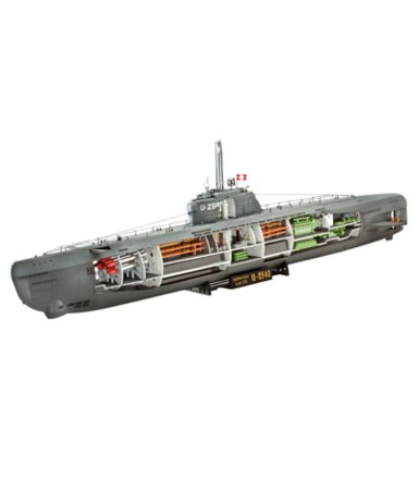 REVELL German U-Boot Typ XXI
