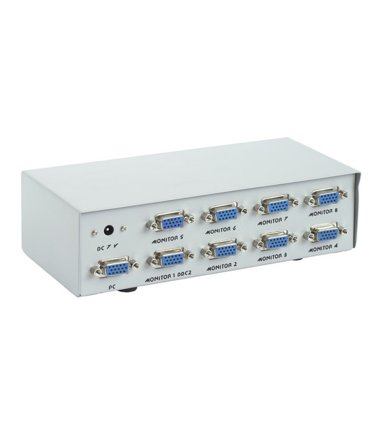 Gembird Video Splitter VGA 8 Monitory