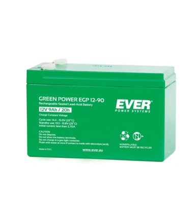 EVER Akumulator 12V 9Ah GREEN POWER T/AK-12009/1105