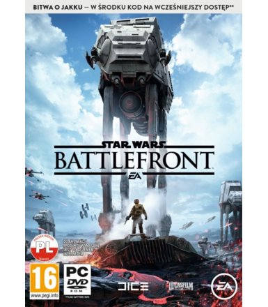 EA Star Wars Battlefront PC + bitwa o Jaku
