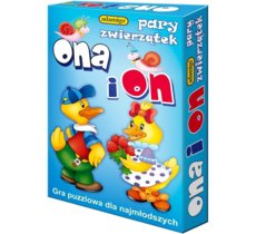 Ona i on - gra puzzlowa