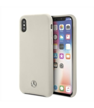 Mercedes Etui hardcase MEHCPXSILBE iPhone X beżowy