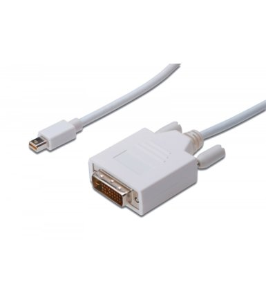 ASSMANN Kabel DisplayPort 1.1a mini DP-DVI TypA MM 3.0m