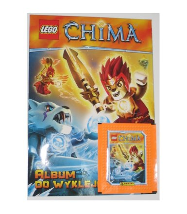 PANINI Lego Chima album do wklejania