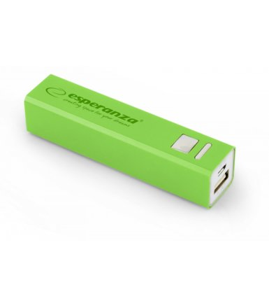 Esperanza POWER BANK ERG 2400mAh ZIELONY