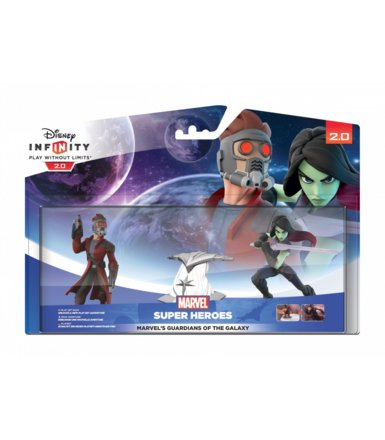 Disney Infinity 2.0 - Guardians of the Galaxy Playset (Star Lord  i Gamora)