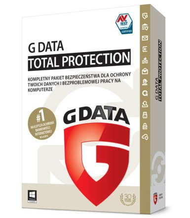 G DATA TotalProtection 2015 2PC 1 Rok BOX