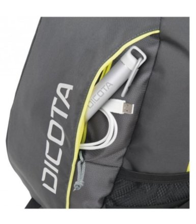 DICOTA Power Kit Premium 14-15.6'' Black/Gray