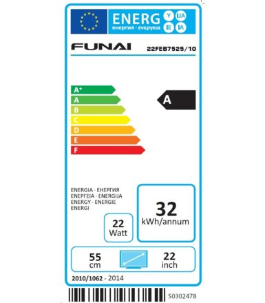 Funai 22'' LED 22FEB7525/10