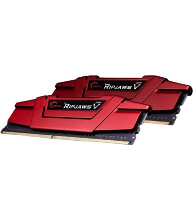 G.SKILL DDR4 RipjawsV 32GB (2x16GB) 3000MHz CL15-15-15 XMP2 Red