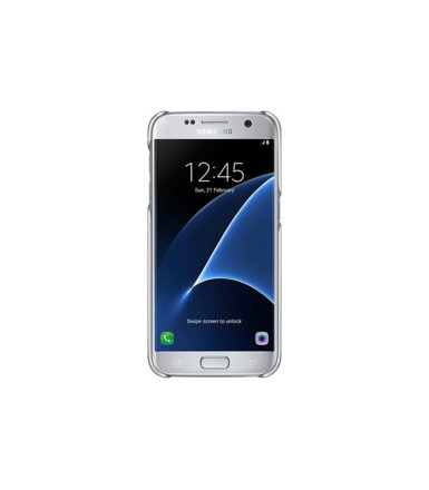 Samsung Clear Cover Galaxy S7 Silver