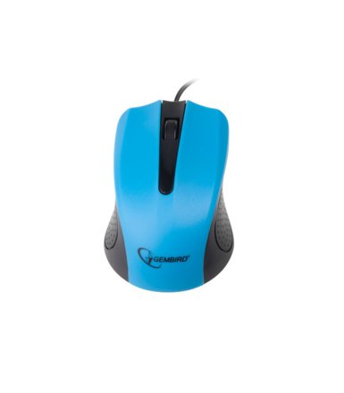 Gembird Mysz OPTO 1-SCROLL USB (OPTO 1-SCROLL USB) Black/Blue