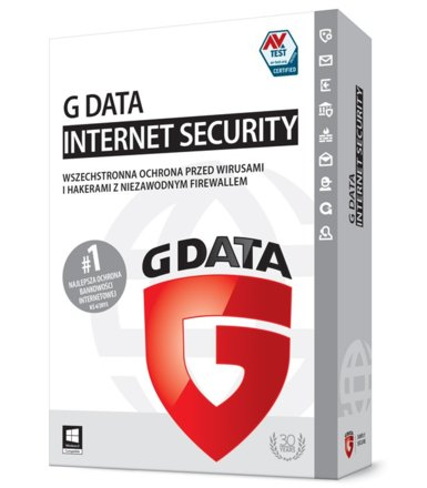 G DATA InternetSecurity 2015 UPGRADE 3PC 1Y BOX