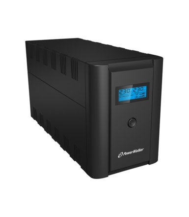 PowerWalker UPS LINE-INTERACTIVE 1200VA 2X 230V PL + 2XIEC OUT, RJ11/RJ45 IN/OUT, USB, LCD