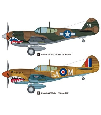 Curtiss P-40M Kitty Hawk