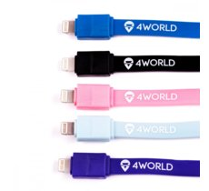 4world Candy Cable, kabel do przesyłu danych, Micro USB