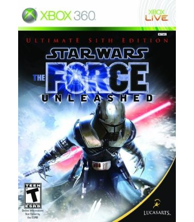Lucas Arts Star Wars The Force Unleashed Sith Edition Xbox 360