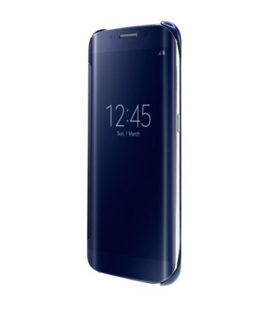 Samsung Clear View Cover S6 Edge BLACK