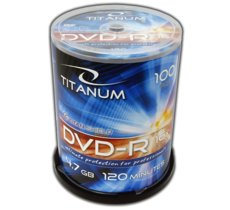 Titanum DVD-R 4,7 GB x16 - Cake Box 100