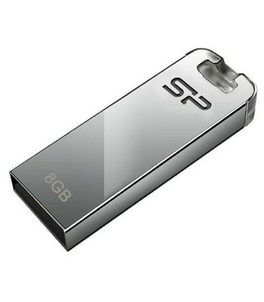 Silicon Power TOUCH T03 8GB USB 2.0 METAL/no chain