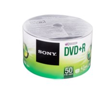Sony DVD+R 16x 4.7GB (50 CAKE)