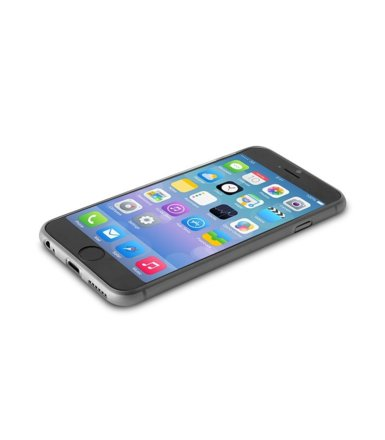PURO Ultra Slim 0.3 mm etui + folia iPhone 6/6s black