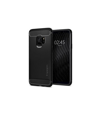SPIGEN SGP  Rugged Armor Etui Galaxy S9 Matte Black
