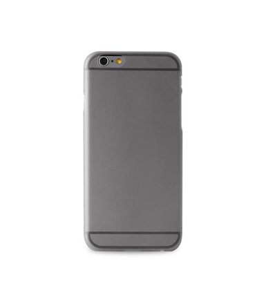PURO Ultra Slim 0.3 mm etui + folia iPhone 6 Plus/6s Plus czarne