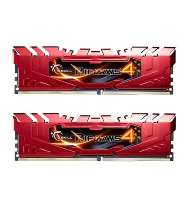 G.SKILL DDR4 Ripjaws4 16GB (2x8GB) 2400MHz CL15 XMP2 Red