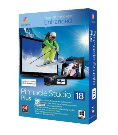 Corel Pinnacle Studio 18 Plus PL/ML Box   PNST18PLMLEU