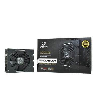 XFX Core TS 750W (80+ Bronze, 4xPEG, 135mm, Single Rail)