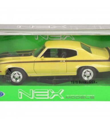 WELLY Buick GSX 1970żółt y