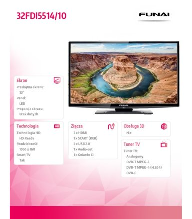 Funai 32'' LED             32FDI5514/10