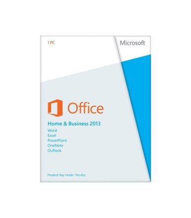 Microsoft Office Home & Business 2013 ENG 32-bit/x64 Medialess T5D-01574