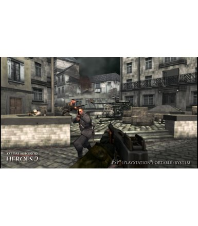 EA Medal of Honor: Heroes 2 PSP Essentials ENG