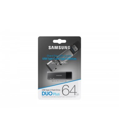 Samsung Pendrive DUO Plus 64GB USB-C / USB 3.1