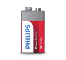 Philips Bateria Power Alkaline 9V 1szt. blister (LR61)