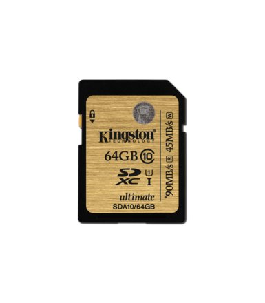 Kingston SDXC 64GB Class10 UHS-I Ultimate Flash Card