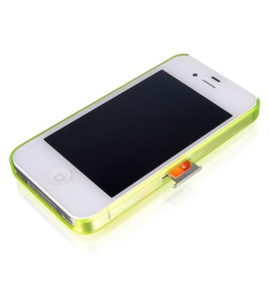 Thermaltake LUXA2 etui Icicle iPhone 4/4S zielone