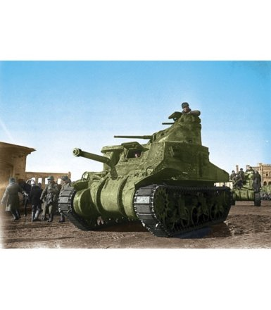 ZVEZDA US Medium tank M3 'Lee'