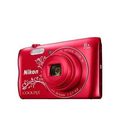 Nikon A300 red lineart