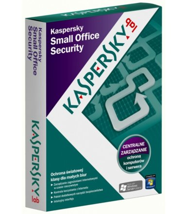 Kaspersky Small Office Security 1Year 5Workstation + 1Server