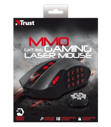 Trust GXT 166 MMO Laser Mouse