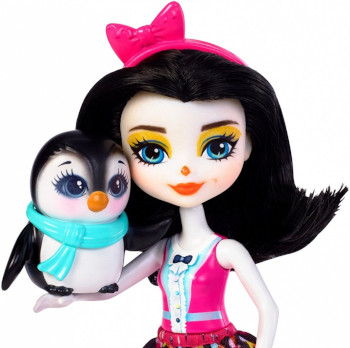 Mattel Enchantimals Wheel Frozen Preena Penguin