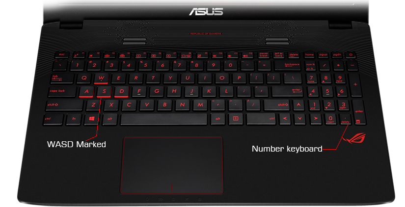 Notebook ASUS GL752VW