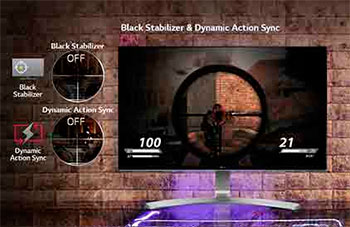 Black Stabilizer & Dynamic Action Sync