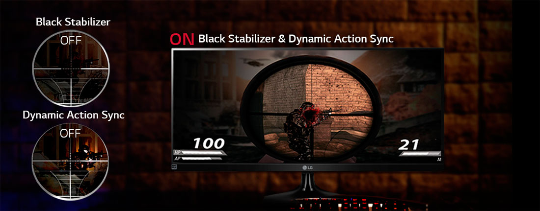 Black Stabilizer & Dynamic Action Sync (DAS)