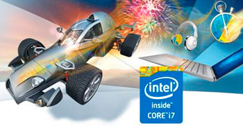 Procesor Intel Core i7-4720HQ (4 x 2,6 GHz, do 3,6 GHz)